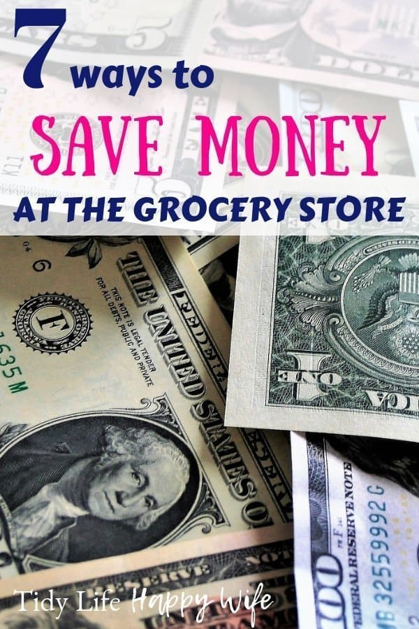 Money saved at the grocery store