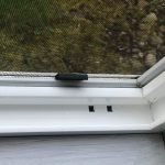 Cleaned window tracks using this simple process