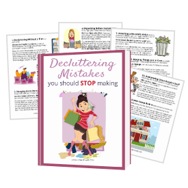 decluttering mistakes guide