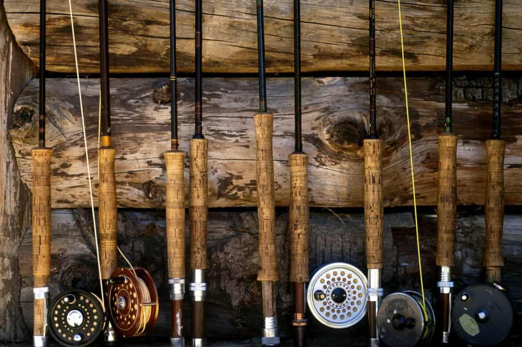 Grandpa's fishing pole collection is sentimental clutter.