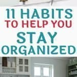 Planner and organized kitchen will stay that way with these 11 habits