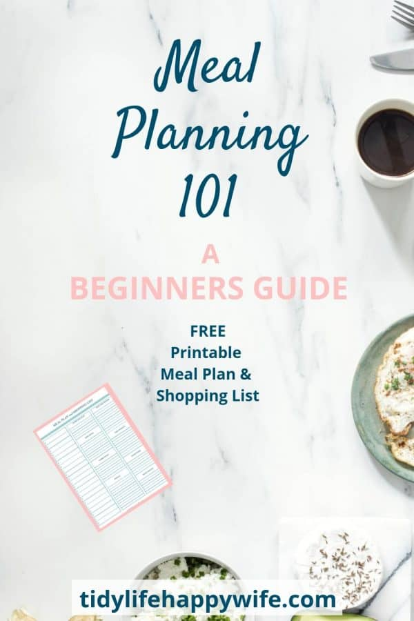 A beginners guide to easy meal planning