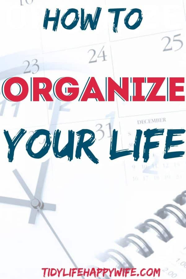 Planner, Clock, and Calendar are all helpful in organizing your life and getting it all done.