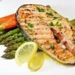 A Grilled Salmon Dinner is possible with this meal planning for beginners tutorial