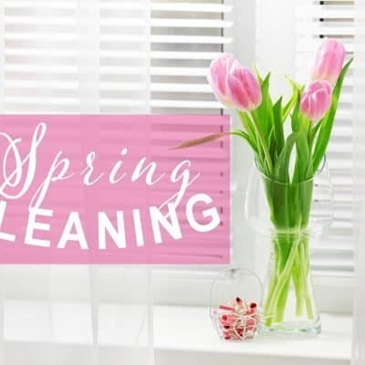 Not Your Grandma's Spring Cleaning Checklist
