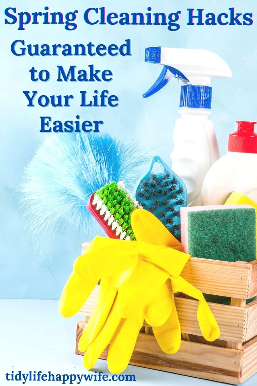 Spring is here, and it's time to get busy cleaning. Here are some brilliant spring cleaning hacks to help you mark those tasks off of that spring cleaning checklist. Tips and tricks to make the most dreaded cleaning chores a bit quicker and easier. Simple ways to clean the ceiling, walls, floors, and so much more. via @Tidylifehappywife