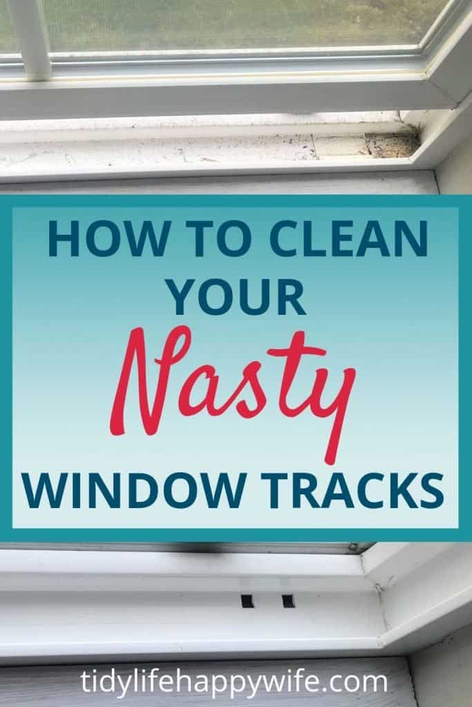 Dirty and clean window tracks