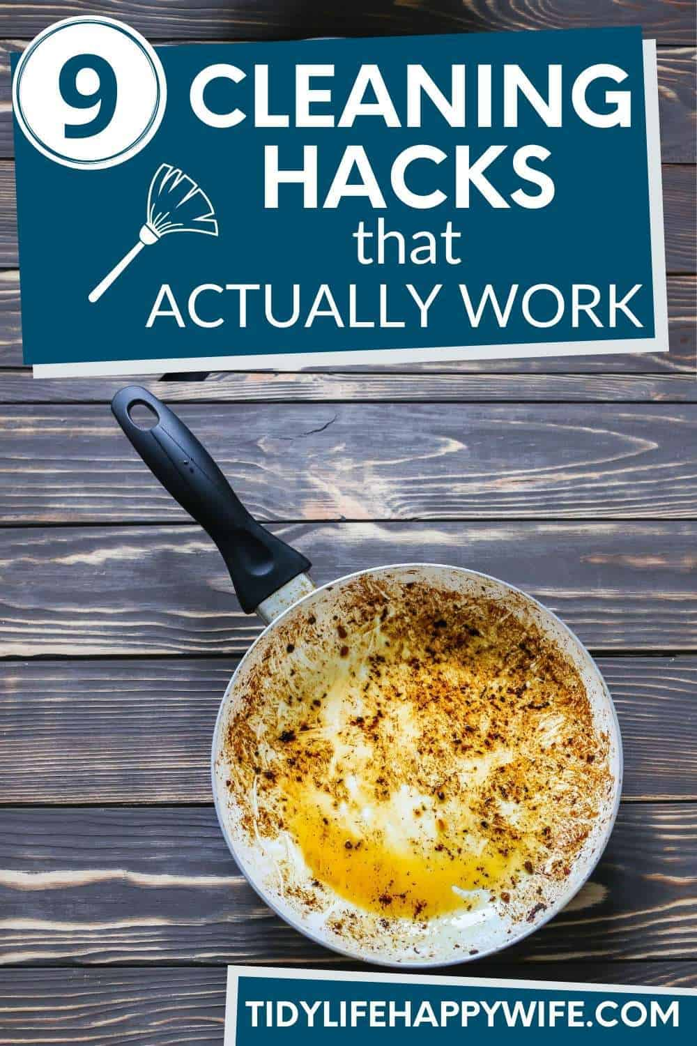 Cleaning hacks can be hit and miss, but here are 9 unusual cleaning hacks that actually work. How to clean burnt-on food, get your windows streak-free, and clean your toilet without scrubbing. Check out these tips today. via @Tidylifehappywife